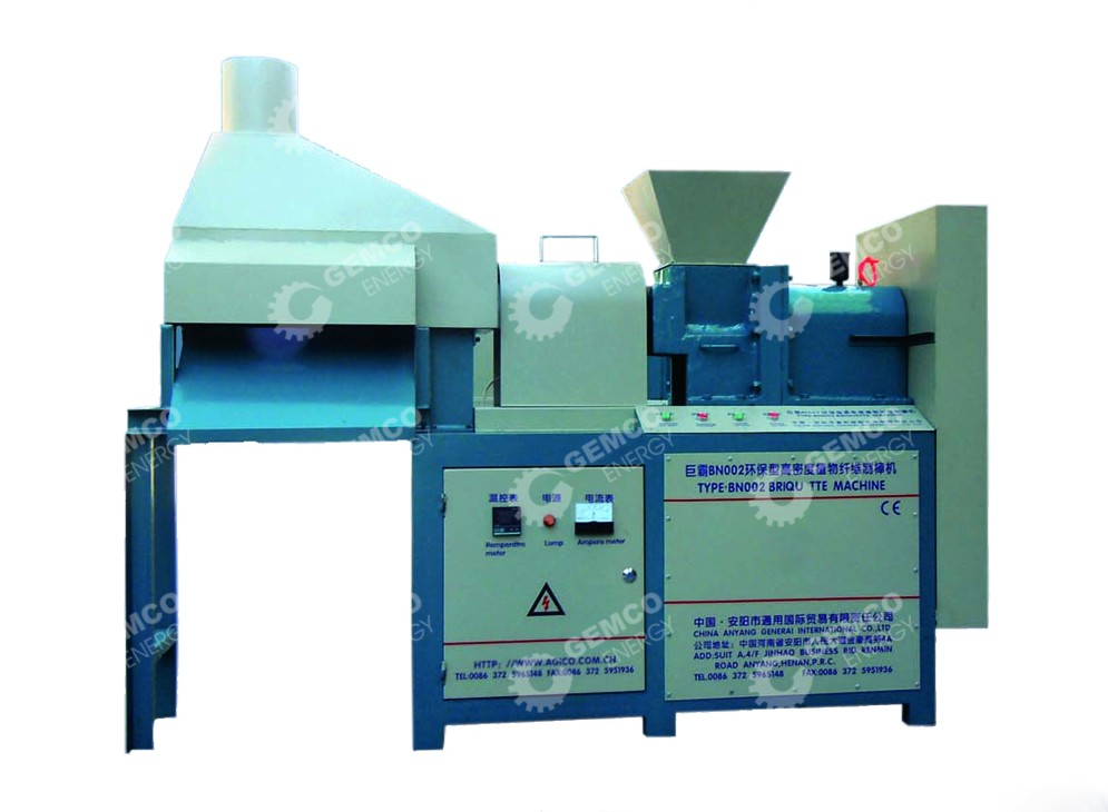 Briquette Press For Home Use ~ High quality screw briquette machine with low price