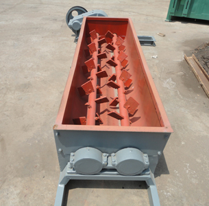 Double shaft coal mixer