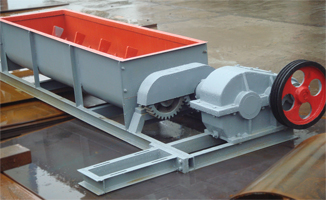Horizontal Two-shaft coal mixer