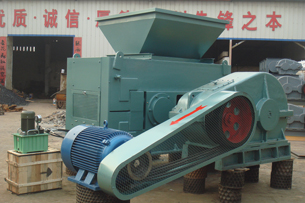 Mechanical and hydraulic coal briquette machine