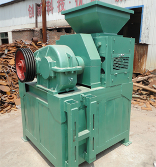 Mechanical briquette machine for mineral powder