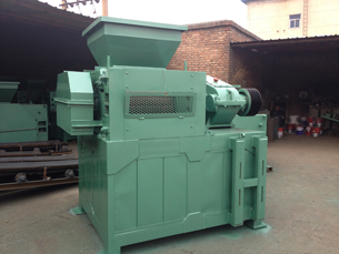 mechanical coal briquette press