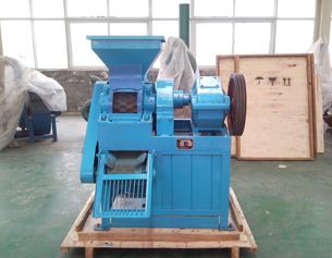 Minimum coal briquette machine