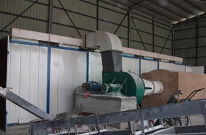 dryer for briquettting plant