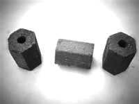 final briquettes for honeycomb briquette machine