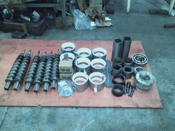 GCBC II Briquette Machine Parts